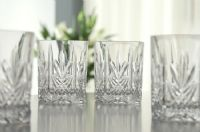 Buy Galway Crystal Abbey D.O.F Whiskey Tumblers Set of 4